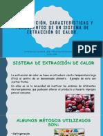 Definiciones de Extraccion de Calor.