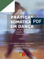 Livro Praticas Somaticas Em Danca Body-M