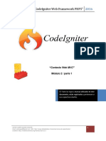 2 1 CodeIgniter Contexto MVC