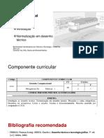 Desenho Computacional - Normatização