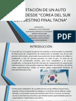 Importacion Corea