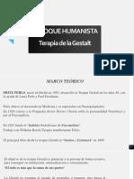 Presentación Enfoque Humanista-Gestalt