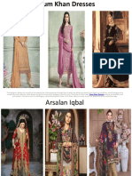Erum Khan Dresses