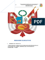 Resumen Ejecutivo Complejo Deportivo