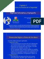 Seguridad Informatica. Gestion de Seguridad