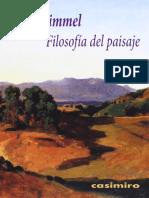 Georg Simmel - Filosofía del paisaje.pdf