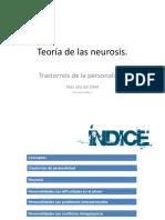 Teoría de las neurosis