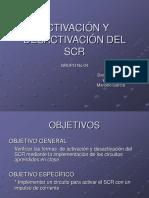 Activación y Desactivación Del Scr_danny
