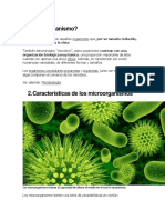 microorganismo Patogenos