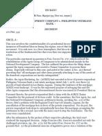 NDC v. Phil. Veterans Bank 192 SCRA 257 (1990)