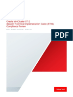 Oracle MiniCluster S7-2 Security Technical Implementation Guide (STIG) Compliance Review