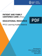 Patein Family Centered Care Concept