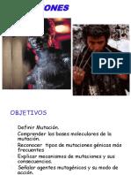 GENÉTICA 04 DRA PILAR - MUTACIONES.ppt