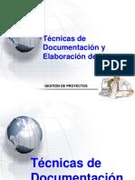 Tecnicas Documentacion y Elaboracion de manuales