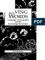 [LINGUISTICS AND LEXICOGRAPHY] Tom McArthur - Living Words_ Language, Lexicography and the Knowledge Revolution (1998, University of Exeter Press).pdf