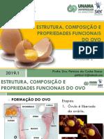 Aula7_ESTRUTURA, COMPOSIÇÃO E PROPRIEDADES FUNCIONAIS DO OVO