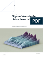 McKinsey Signs of Stress in the Asian Financial System