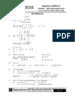 Maths DPP Solution (7)