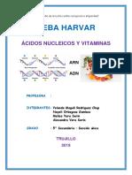 Acidos Nucleicos y Vitaminas