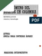 El fenómeno del bullyng en Colombia