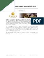 1 Empresas Agroindustriales en La Ciudad de Tacna