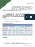 Focus-Concursos-Língua Portuguesa p_ DPE - RJ ( Técnico Médio )  --  Conjunção Coordenativas.pdf