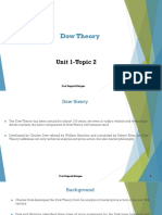 Topic 2-Dow Theory
