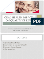 Oral Health Impact on Quality of Life_siap25slides