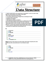 Tuple Data Structure