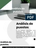 ANÁLISIS DE PUESTOS[2637]