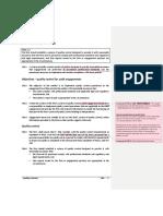 Section 700 - Quality Controls Final Ver. Dec. 2018—LIPURA Comments