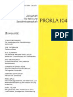 Prokla104-1996 - Universitaet