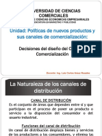 Políticas y Estrategias del diseño del Canal de Comercialización