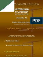 Diseño robusto - 2014