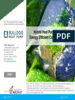 Hybrid Heat Pump Systems