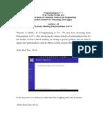 Lec 45 Module 30 _ Dynamic Binding (Polymorphism) _ Part V (Lecture 45).pdf