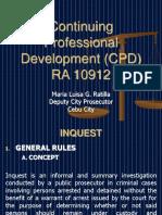 CPD Continuing Prof -AUG 2018 Lec 1 Materials .pptx