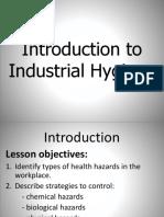 Industrial Hygiene PPT v-03!01!17