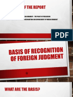 Basis of Recognition