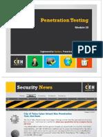 Module 20 Penetration Testing