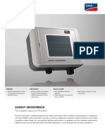 Sunny Sensorbox Datasheet