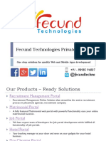 Fecund Technologies Private Limited-Products