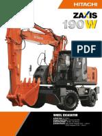 HITACHI ZX 190 W-3.PDF