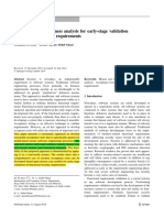 18. Using Security Robustness Analysis for Early-stage Validation of Functional Security Requirements