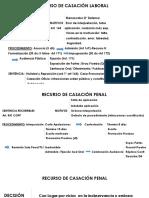 Recurso de Casación Laboral y Penal (1)