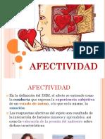 AFECTIVIDAD Y CONTEXTO DE LA PERSONA