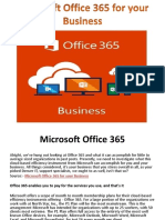 Microsoft Office 365 for Your Business