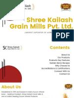 Shree Kailash Grain Mills Pvt. Ltd. New PDF