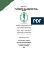 1° Influencia de temperatura y concentracion en velocidad de reaccion wuuu 2
