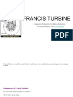 Francis Turbine-Components, Working, Adv & Limitations, Applications